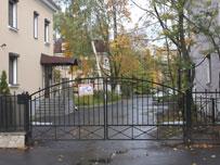 Изготовление распашных ворот из прутка
