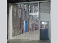 ПВХ-завесе на складе